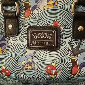 Loungefly Bags - NWOT Loungefly Pokemon Gyarados Wave Bag